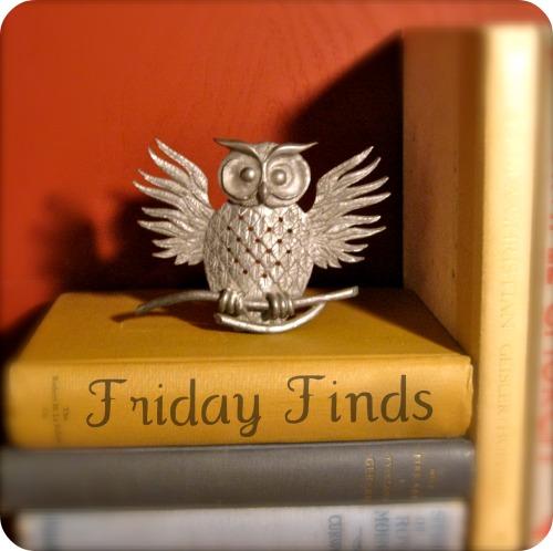 Vintage Owl: Friday Finds
